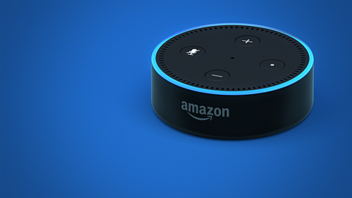 Echo Dot, l'assistant personnel rencontre l'enceinte connectée
